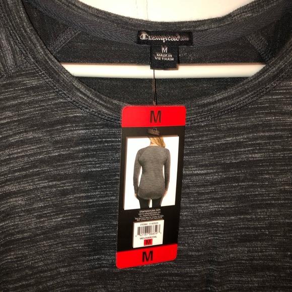 Champion Tops - Champion grey long sleeve